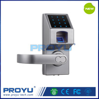 Fingerprint Lock PY-66307 with Touch Screen Keypad Unlock via Fingerprint Password Override Key Fit for Home Office