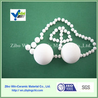 92% Al2O3 White industrial ceramic packing beads