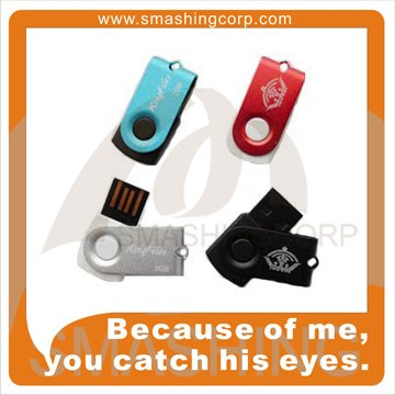 Smashing Hot Selling Bulk Items Plastic Memory USB Drives 4gb Swivel USB Flash Stick