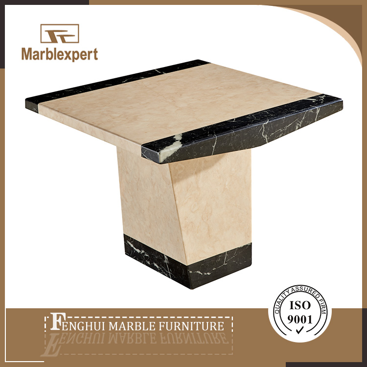 Fashional designed marble side table for bedroom