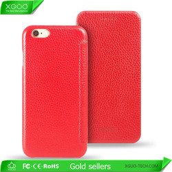Italy style real leather hot selling mobile phone cover for iphone6 case