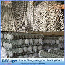 chain link fence weave fabric (anping factory,best service)