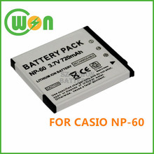 NP-60 NP60 Camera Battery for Casio Exilim EX-Z11 Z60 Z65 Z70 Z75 Z77 EXZ11