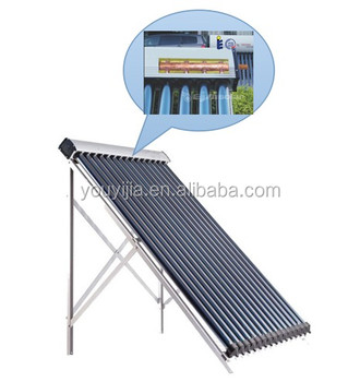 Solar Keymark and SRCC New Style Heat Pipe Solar Collector from 23 years factory (30 tubes)