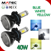 Factory price autopart high-low beam LED headlight kit restorement with CE 40W h7 h4 h13 victory led headlight
