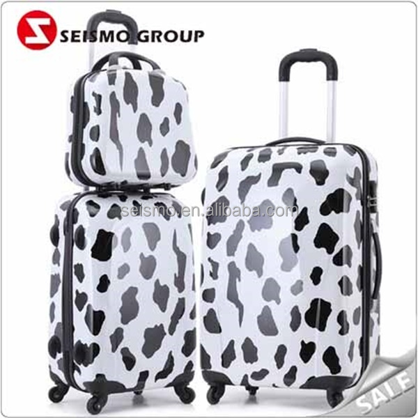 Waterproof Stocklot 3 Pieces Trolley Luggages