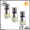 Free Shipping High quality 100pcs led auto lighting T10 led canbus 6smd car door led lights