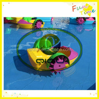 leisure newly paddle boat used in hot sale
