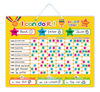 E1002 2014 hot brand new for kids baby and child creative magnetic learning educational planning star reward games