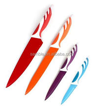 Royal colorful stainless steel kitchen knife set