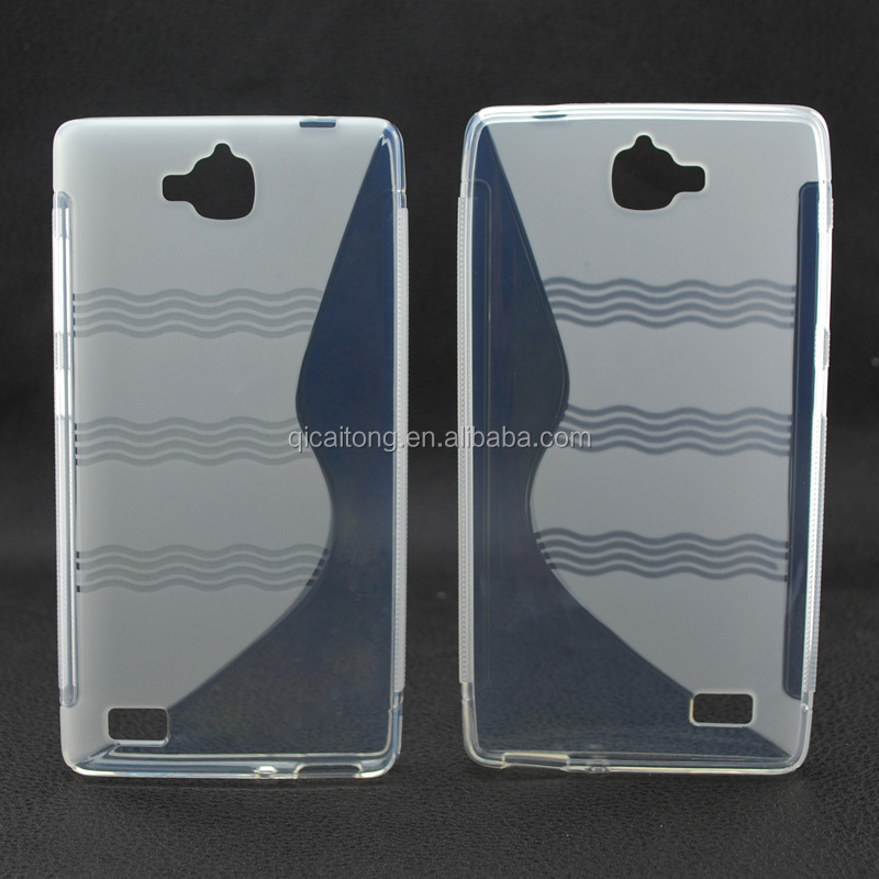 Wholesale New Designs S TPU Case Soft Gel Cover for HUAWEI HONOR 3C