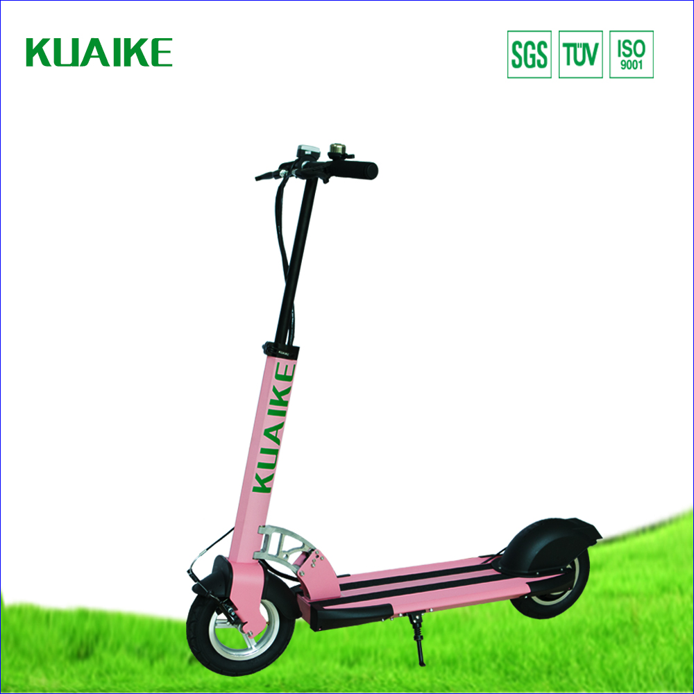 KUAIKE has unique folding mechanism which enables a quick and easy fold electric scooter street legal