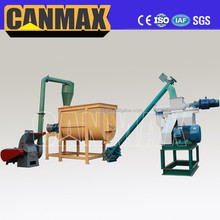 New condition Automatic pet feed pelletizer machine, rabbit food pellet making machine
