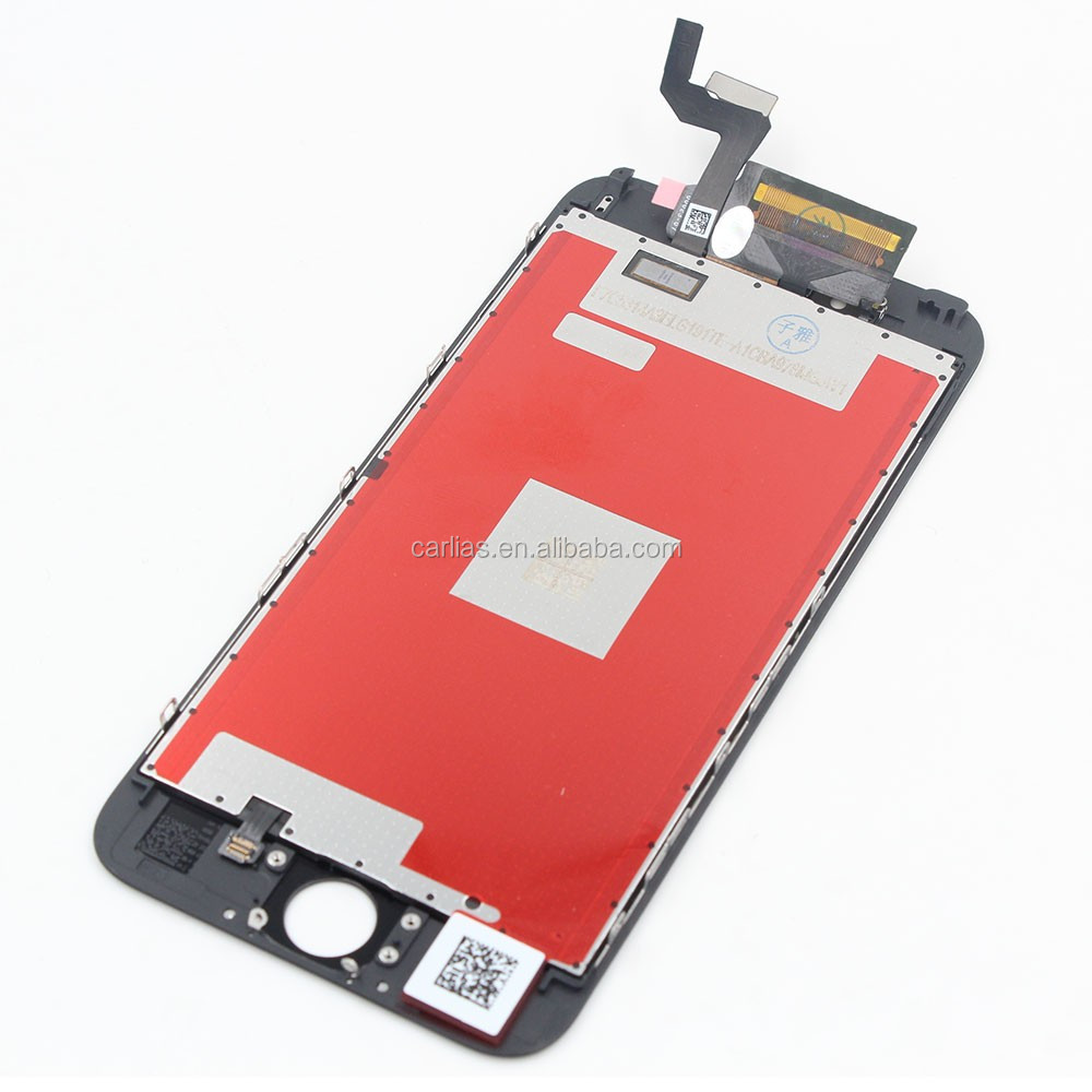 Replacement Digitizer LCD touch <strong>screen</strong> for iPhone 6s plus Mobile Phone White black