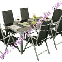 sell RLF-TH-006 aluminum patio sling dining set garden outdoor furniture set