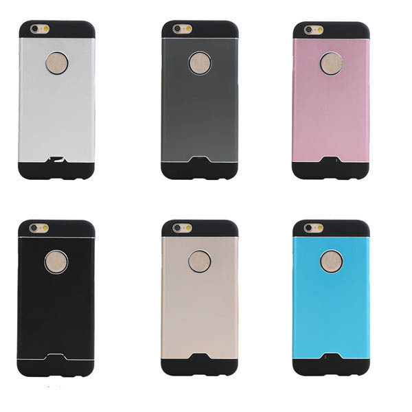 Luxury ultra-thin metal mobile phone cases and covers for iphone 6 and 6s