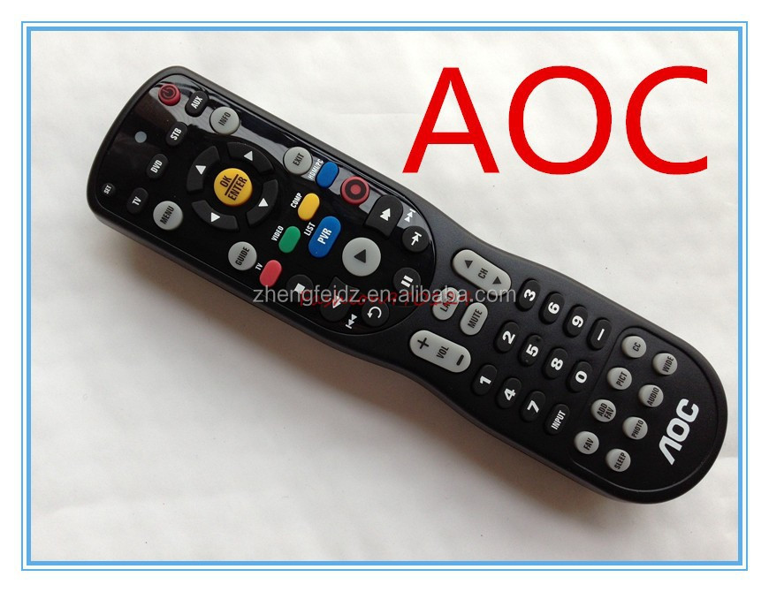 AOC TV 67100BA1-017-R universal Remote Control TV/DVD/VCR/VIDEO/CABLE