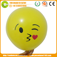 china factory promotion gift round shaped large funny balloon