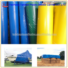 waterproof,fireproof PVC coated polyester fabric,PVC woven fabric tarpaulin roll