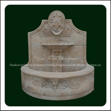 Hand Carved Factory Marble Wall Fountain