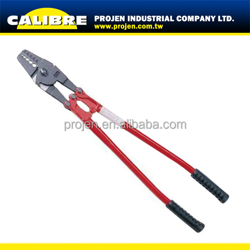 CALIBRE hand swaging tool steel wire rope cutting tools rope crimping tool