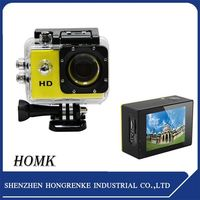 With Beautiful design 240Fps Mini Sport Action Camera With Wifi