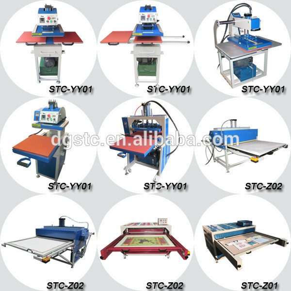 high pressure small manual mouse pad heat transfer printing machine