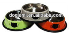 2015 Hot Selling Pet Bowl Pet Stainless Steel Bowl Slow Feed Dog Bowl
