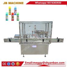 20-200ml Automatic Baby mosquito repellent spray bottle filling machine from Shanghai