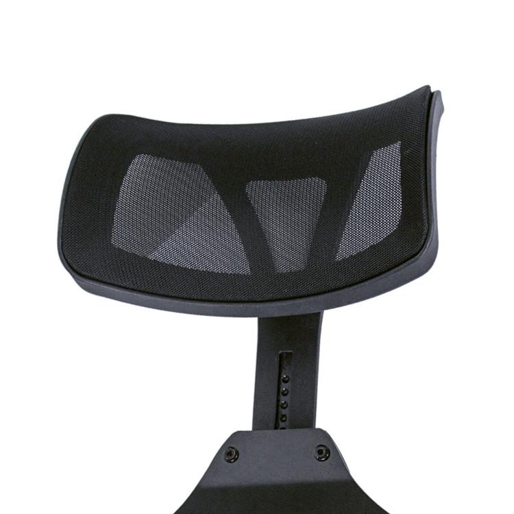 Encosto de cabeça de Alumínio Dobrável de Metal Maquiagem Cabelo Cosméticos Salão de beleza Cadeira