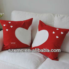 100% polyester pillow cover, sublimtion pillowcase, blank pillowcase for wholesale