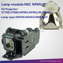 Original projector lamp NP05LP for NEC projector VT700,VT800,NP905