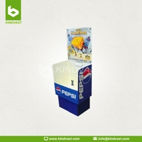 Pepsi counter box display stand for drinks