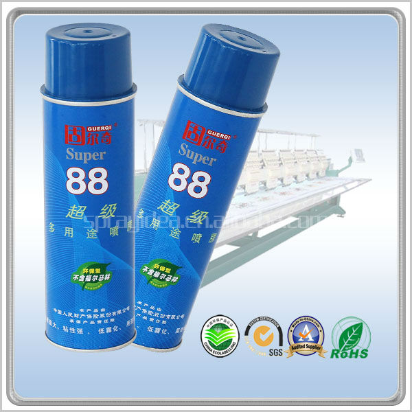 multi-purpose GUERQI 88 skin fabric adhesive spray glue