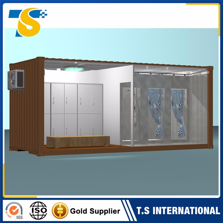 Factory Direct Low Price Fireproof and waterproof container house for cosmetic