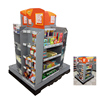 New Fashionable Paper Floor POP Pallet Displays Stand with Hooks