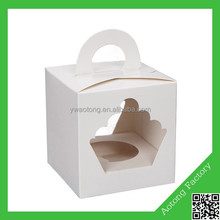 New design lovely cake box custom made cupcake boxes paper cupcake box