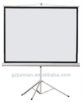 tripod projection screen with various sizes