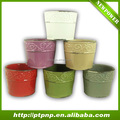 Hot new products garden Round ceramics pot / flower pot