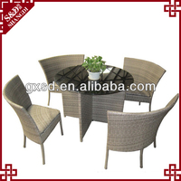 S&D luxury handmade synthetic rattan outside furniture