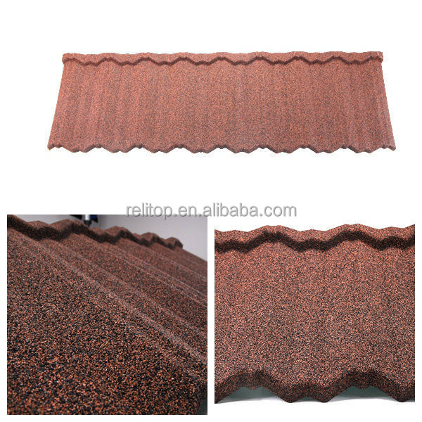 Building material types of roof covering sheets with stone for Types of roof covering materials