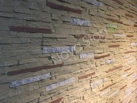 Decorative Siding Faux Brick Stone Wall Panels stacked stone