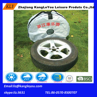 waterproof car tire cover tire bag with handle