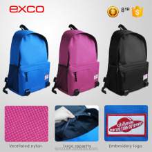 Factory in Guangzhou EXCO large capacity polyester sports manufacture style backpack laptop bags