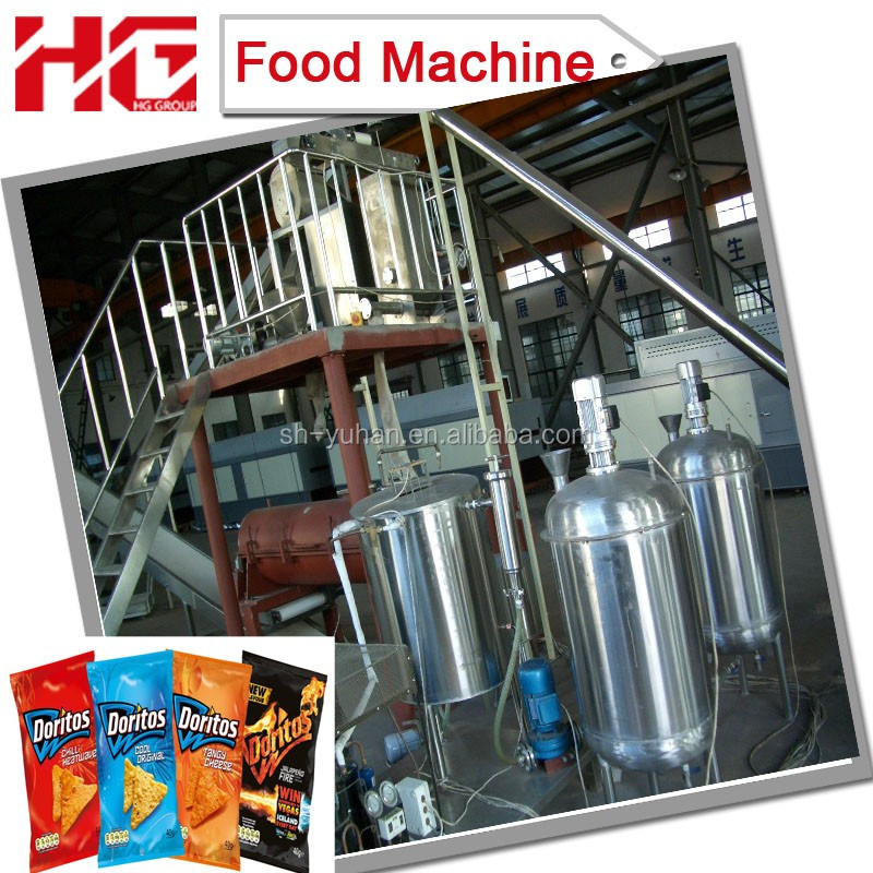 9ton/day high tech Doritos/Tortilla/Taco Chips food machinery