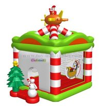 New arriving professional inflatable christmas bouncer