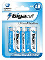 size AA Digital alkaline battery LR6