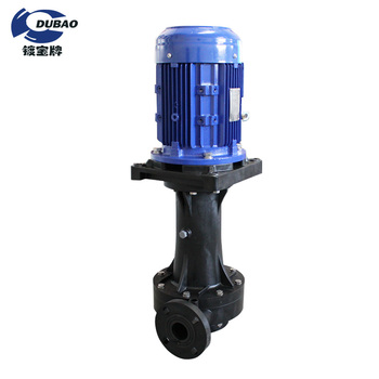 Sulfuric acid transfer centrifugal vertical pump for industrial filtering chemical pumpp acid and alkali resistance