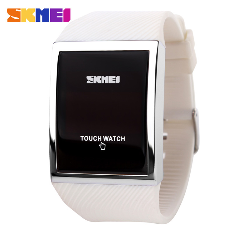 2014 SKMEI new latest lady silicone watch