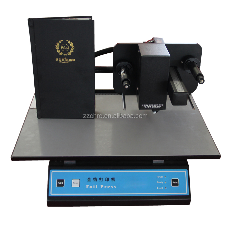 Automatic digital hot foil stamping printer with CE